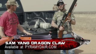 AIR POWERED ARROW launched over 500fps- Coyote Hunting and Predator Calling at its Best!