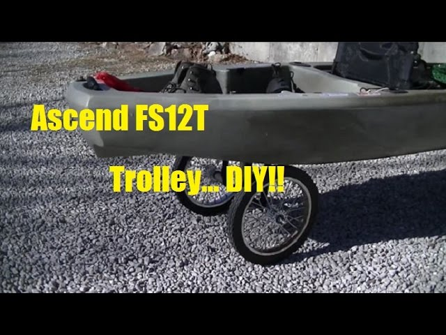 Ascend FS12T Kayak Trolley DIY