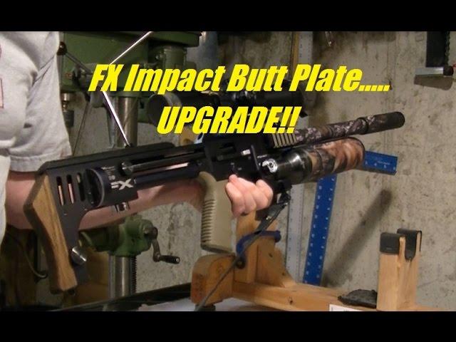FX Impact Butt Plate UPGRADE!! - YoteTube