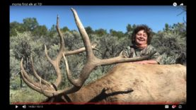 MOM'S FIRST ELK HUNT at 70 YEARS OLD!!!!