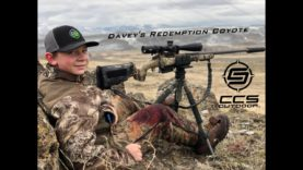 CCS Outdoor – Davey's Redemption Coyote – 6.5 Creedmoor at 20 Yards