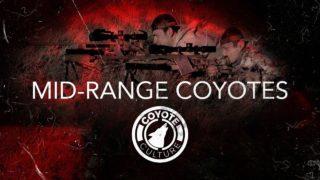 "Coyote Hunting, 4 Coyotes:  C.C. Season 3 E1 ""Mid-Range Coyotes"""