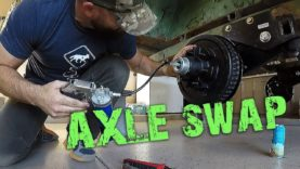 M101 Trailer Build E3 – Timbren Axle Install