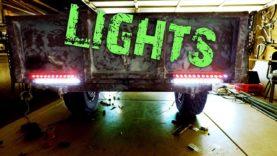 M101 Trailer Build E5 – Working Lights