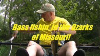 Bass Fishin' in the Ozarks of Missouri in my Ascend FS12T kayak… Aug 10, 2019