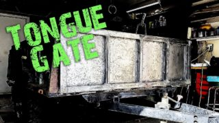 M101 Trailer Build E8 – Installing the Tongue Gate