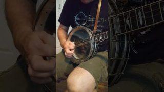 Poll Ha' Penny on Irish tenor banjo.