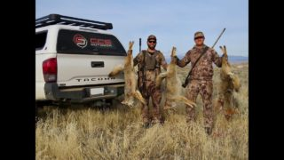 CCS Outdoor Calling for Coyotes – 2019 First Stand of the Year – Triple Dog Day