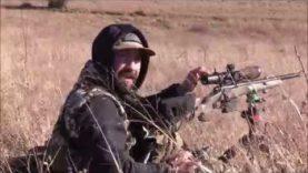 Coyote Hunt With The New Meopta Optika 6! Running Headshot!