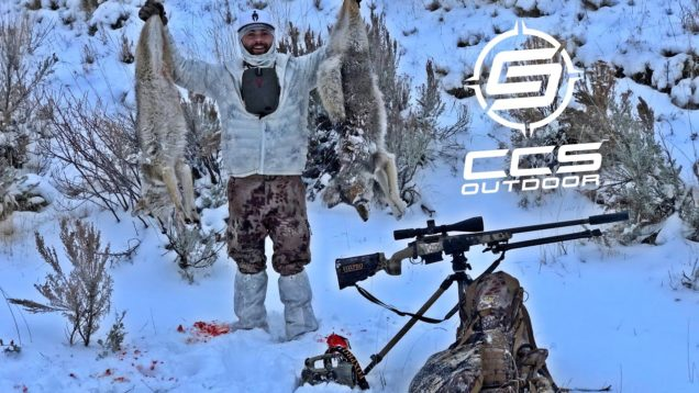 CCS Outdoor Calling For Coyotes – Double with our Dad's – Coyote Control Specialists – 6.5 Creedmoor
