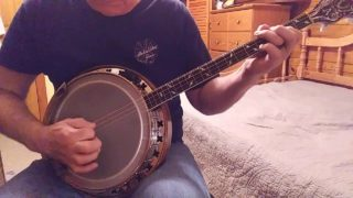 McCarty's Reel on Irish tenor banjo