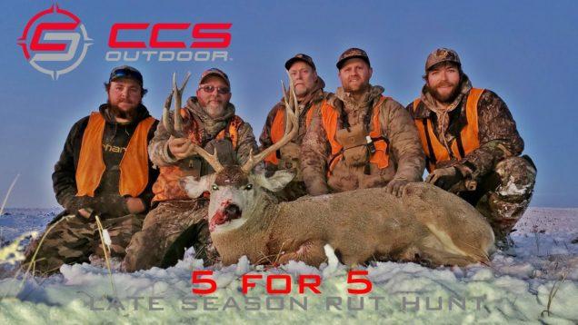 2019 Late Season Mule Deer Rut Hunt – 5 for 5 – CCS Outdoor