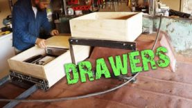 M101 Trailer Build Episode 13 – Drawers
